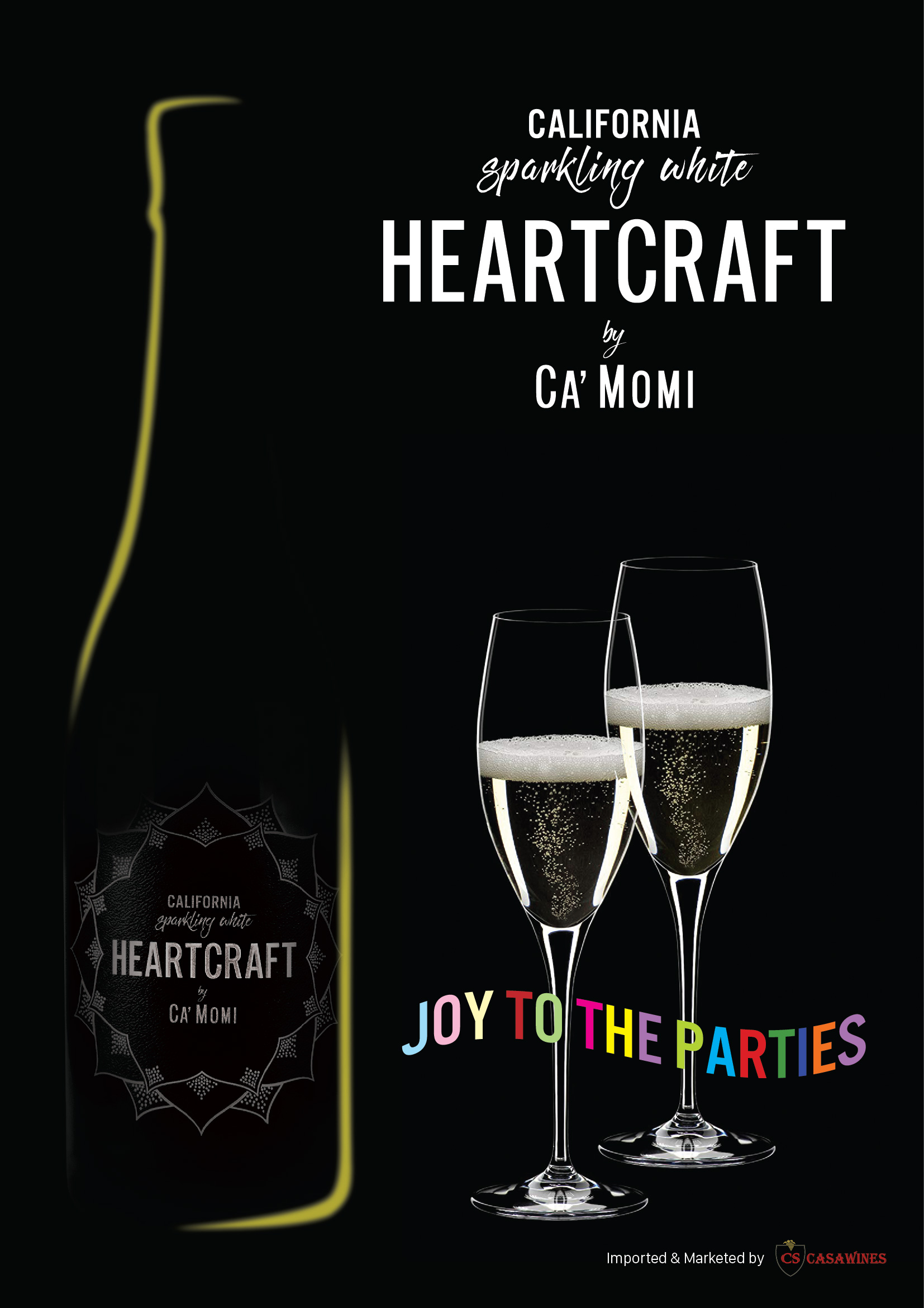 Heartcraft by Ca'Momi California Sparkling White