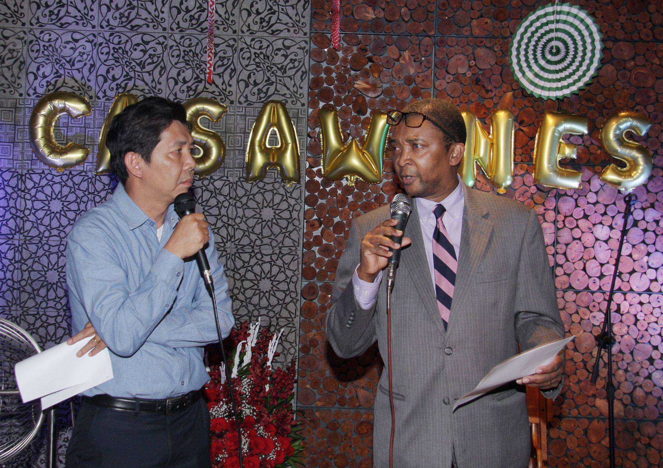 Đại diện Bộ Nông Nghiệp Mỹ phát biểu tại Lễ kỷ niệm 5 năm thành lập của Casawines